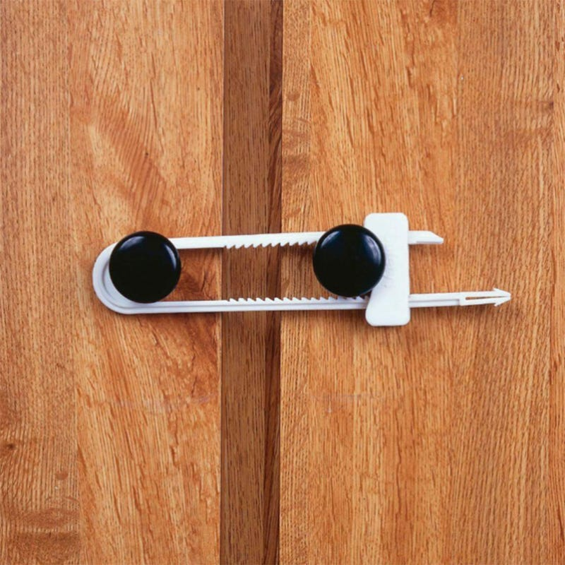 Cabinet Slide Lock Set of 2