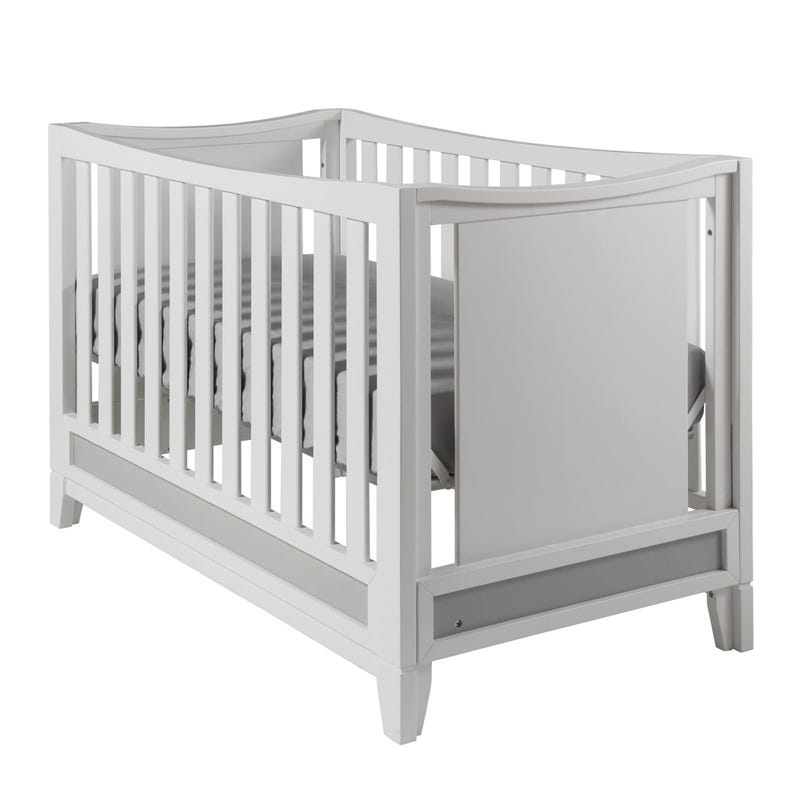 Crib Treviso White And Gray