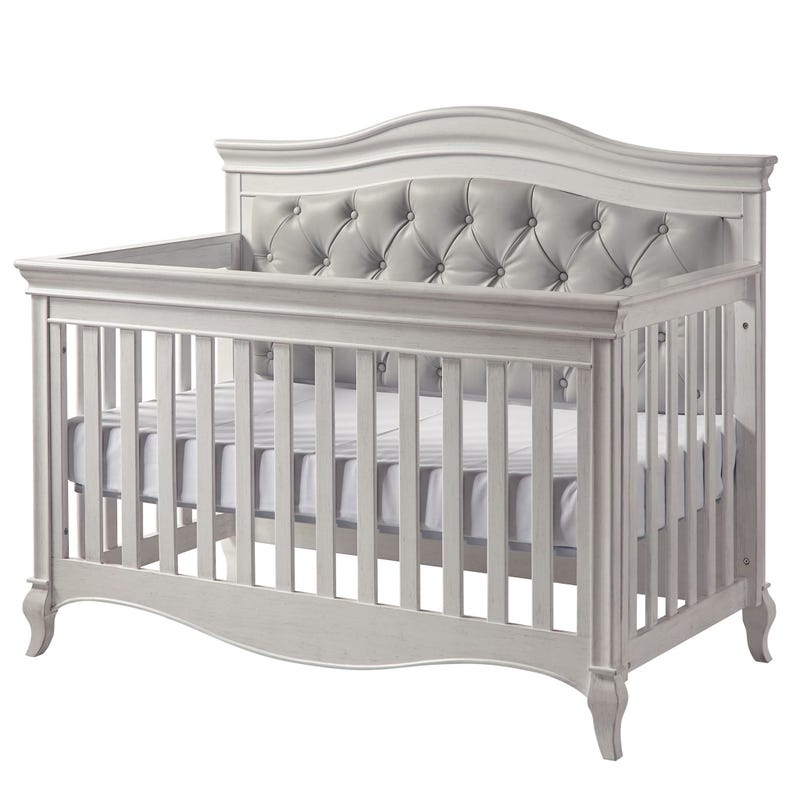 Crib Diamante Vintage White