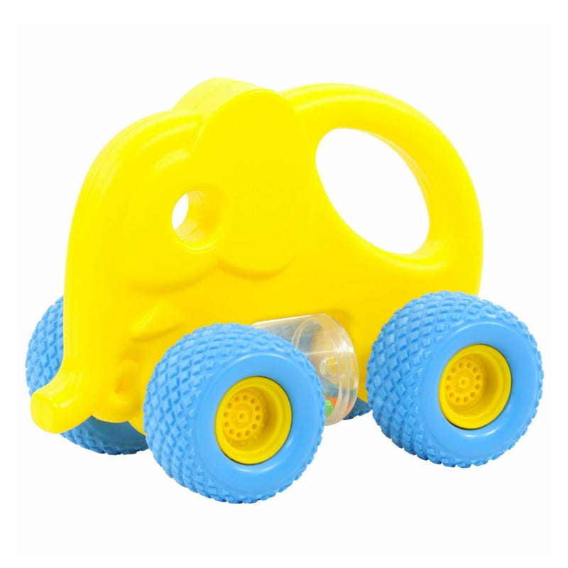 My First Grip Rattle Car - Yellow