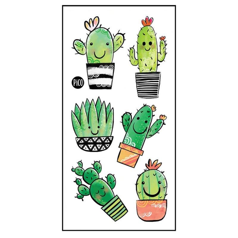 Tatouages Pico - Cactus