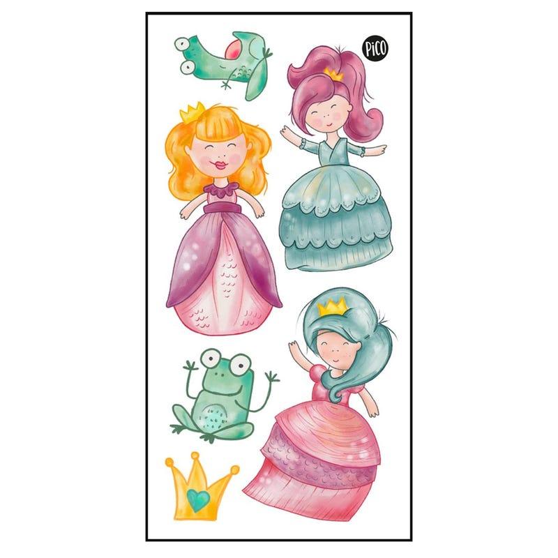 Tatouages Pico-Les princesses