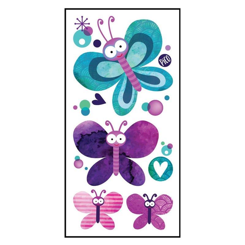 Tatouages Pico-Jolis papillons