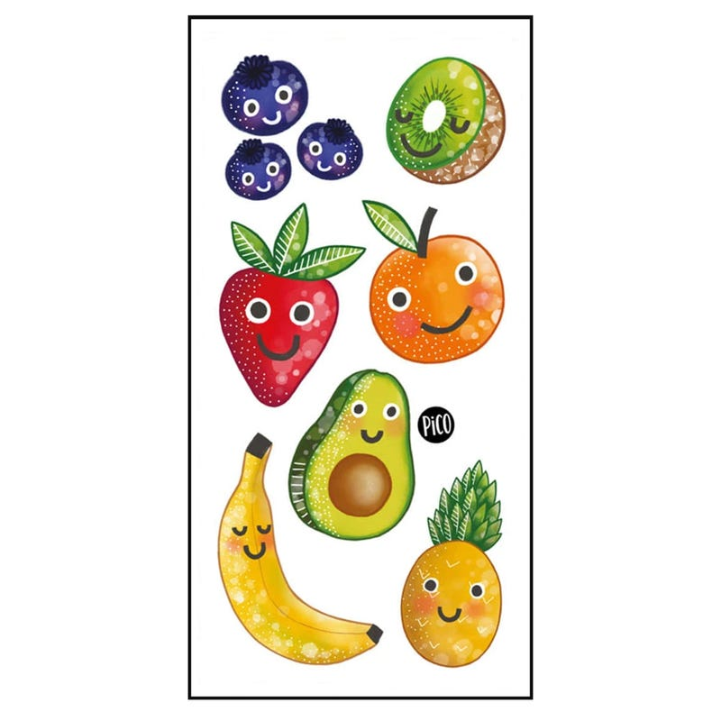 Tatouages Pico - Fruits