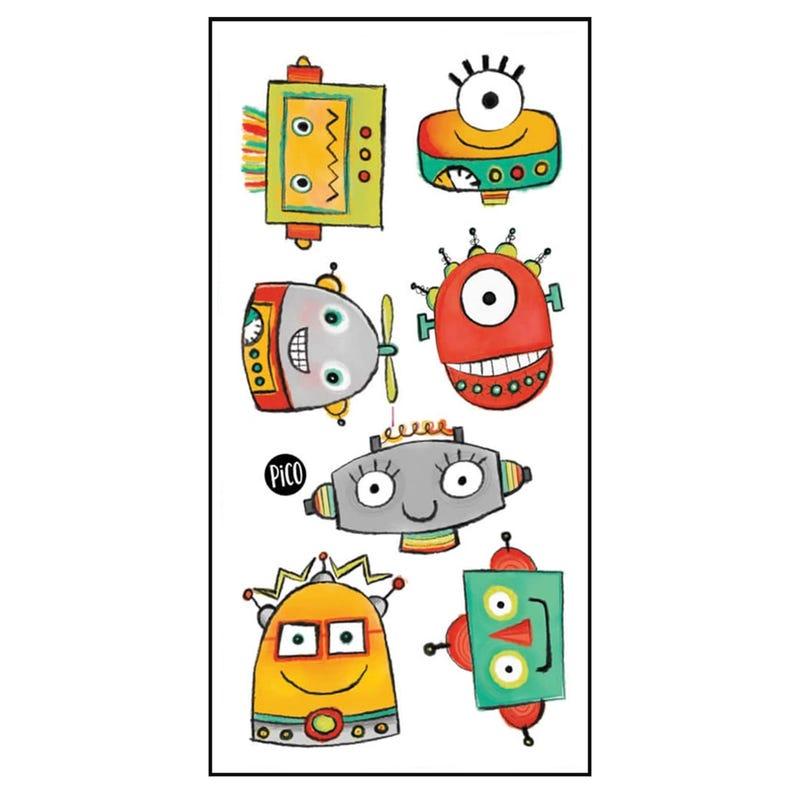 Tatouages Pico-Les Robots
