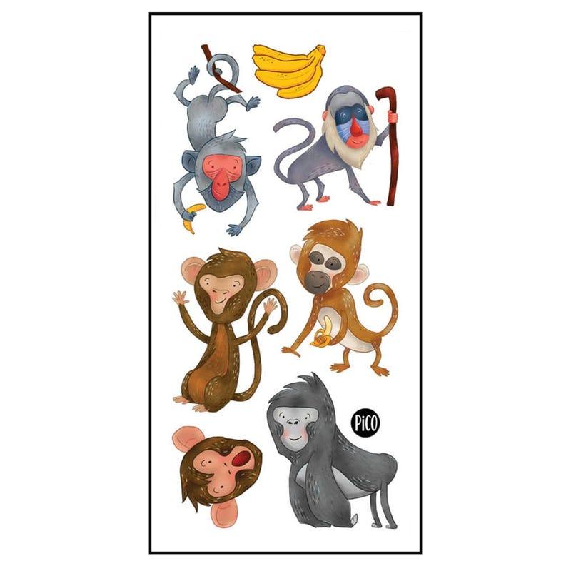 Tatouages Pico-Les Singes