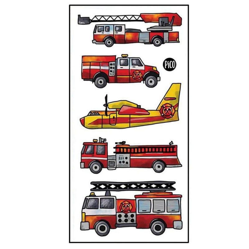 Tatouages Pico-  Camion de Pompier