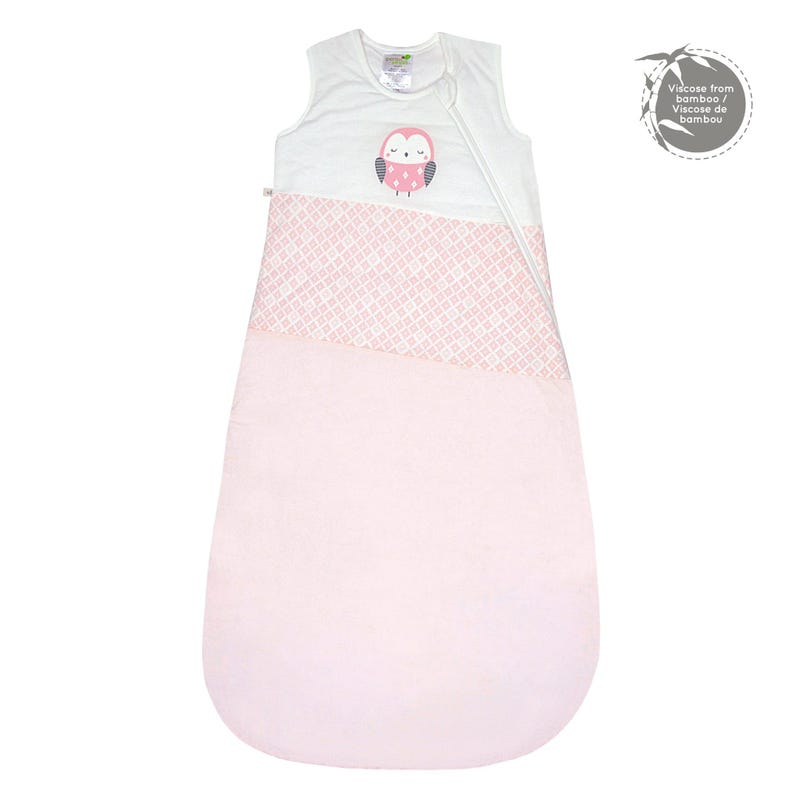Quilted Bamboo Sleep Bag 0-36m - Diamond