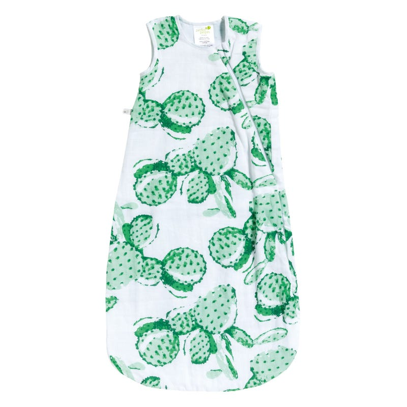 Muslin Sleep Bag 0-36m - Cactus