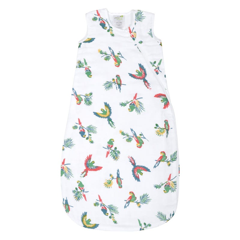Night Bag Muslin Parrot 0-36
