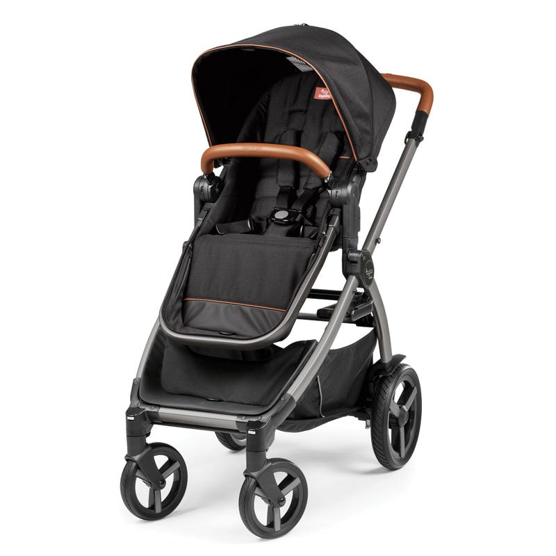 Z4 Full-Featured Reversible Stroller - Agio Black