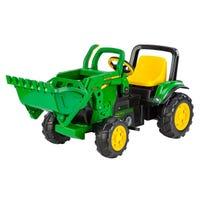 Gros Tracteur John Deere avec Chargeur Frontal - Vert et Jaune