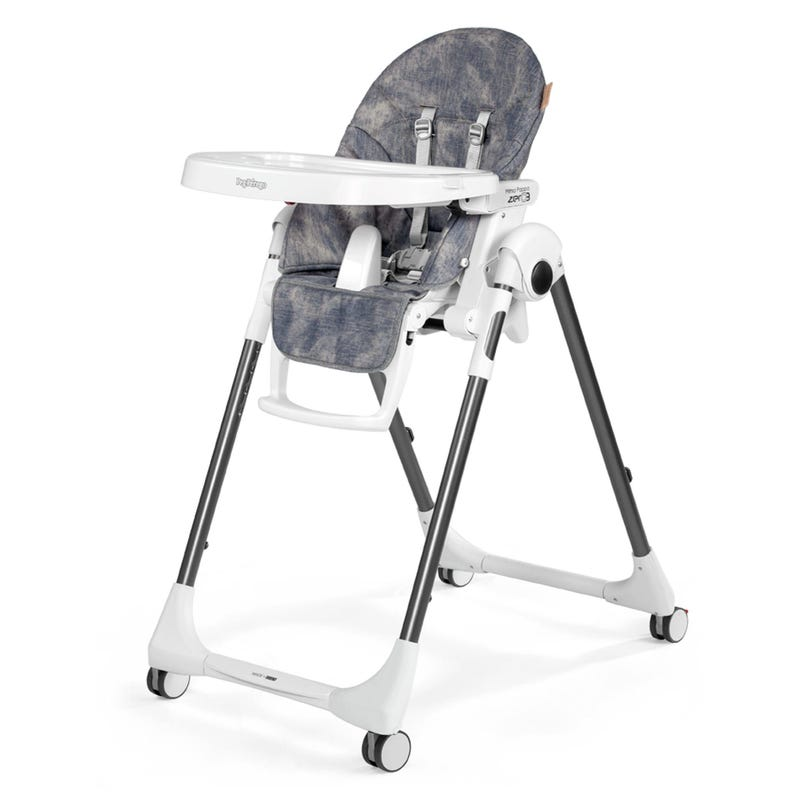 Chaise Haute Prima Pappa Zero-3 - Denim