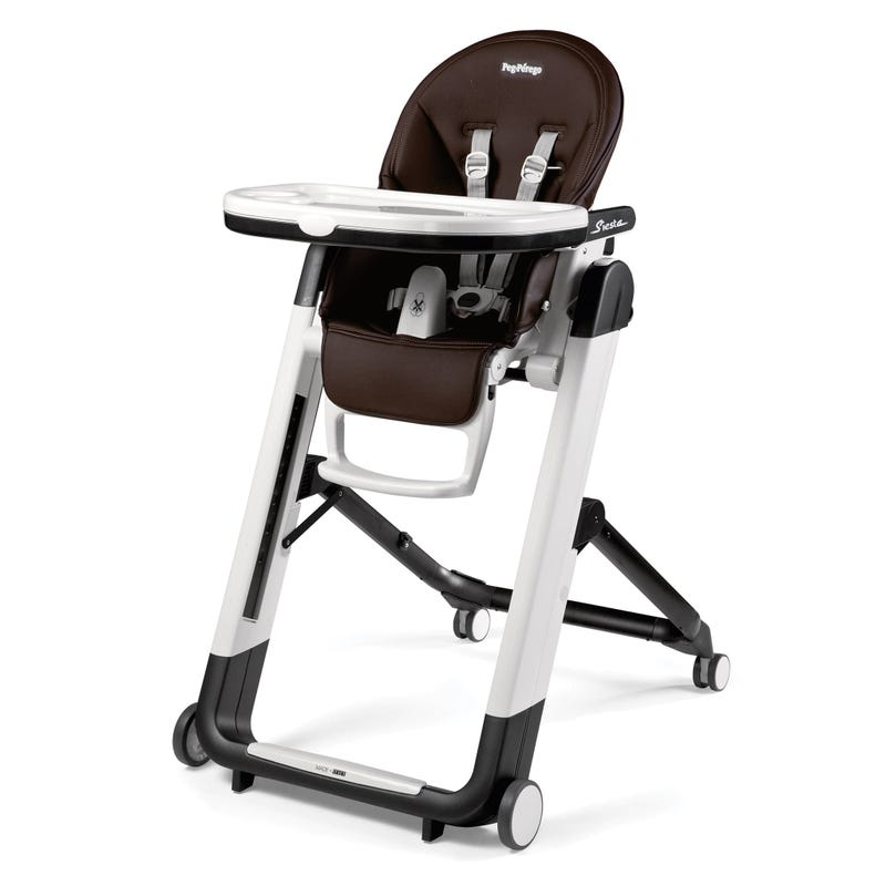 Siesta High Chair -  Cacao  Leather