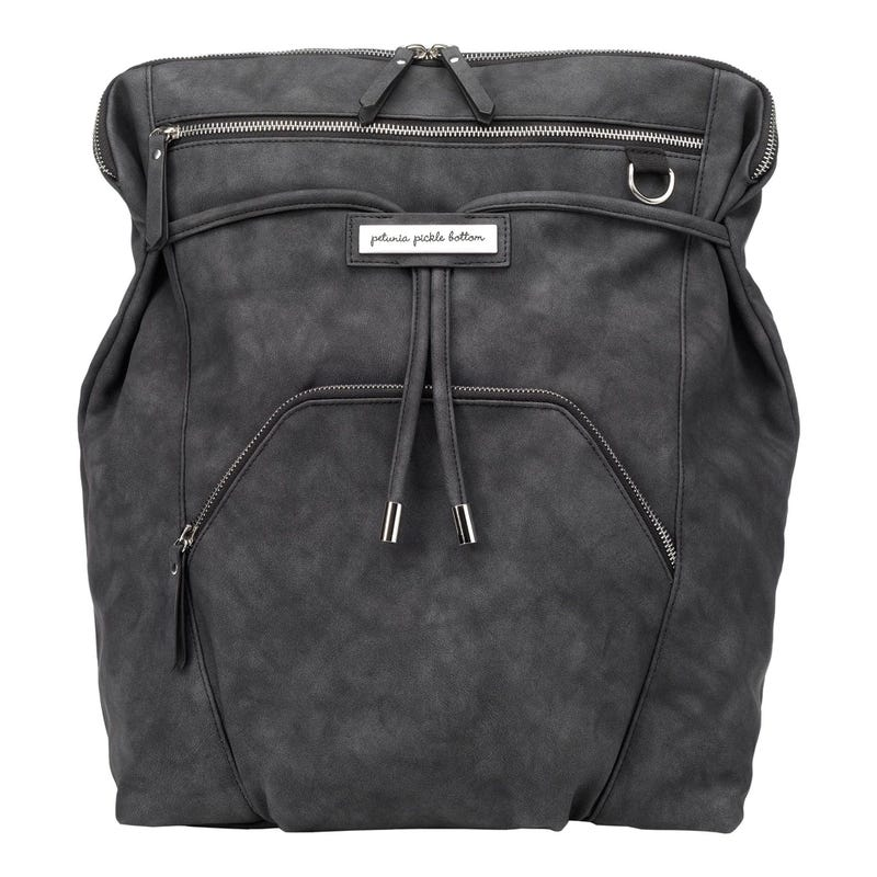 Cinch Convertible Diapers Backpack - Midnight Matte