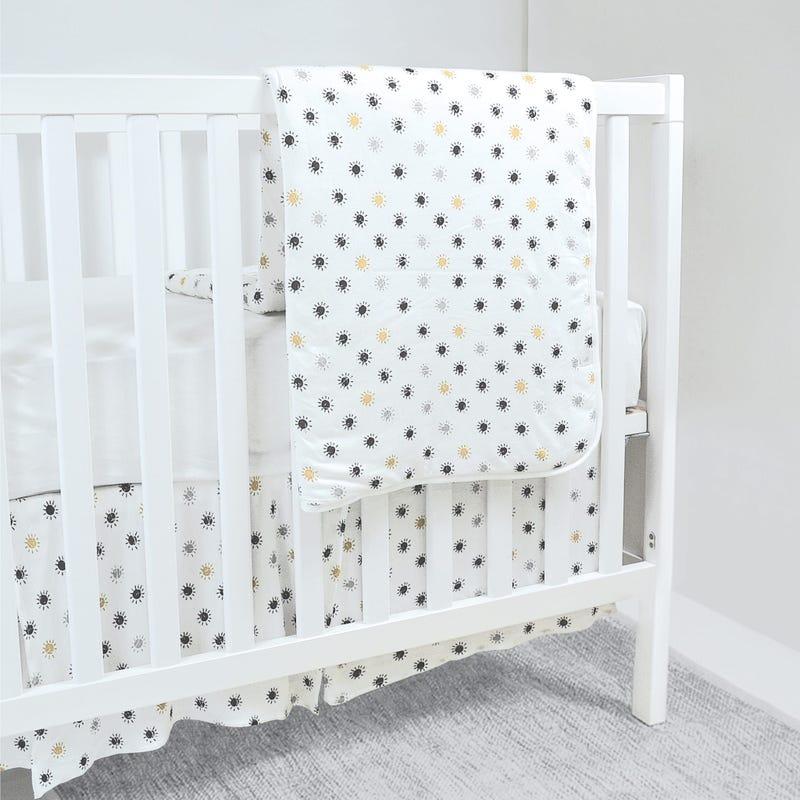 Bamboo Crib Bedding - Suns