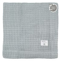 Bamboo Knitted Blanket - Gray