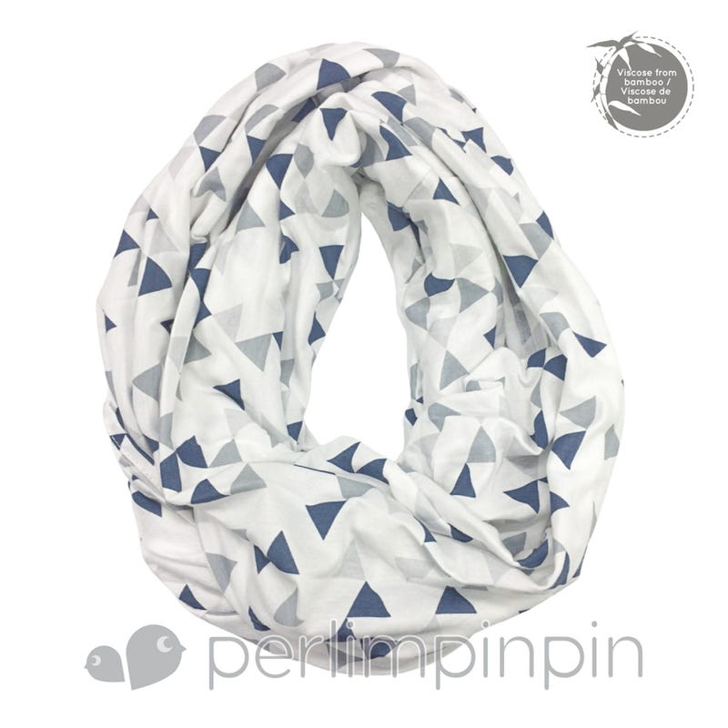 Bamboo Nursing Scarf- Triangle