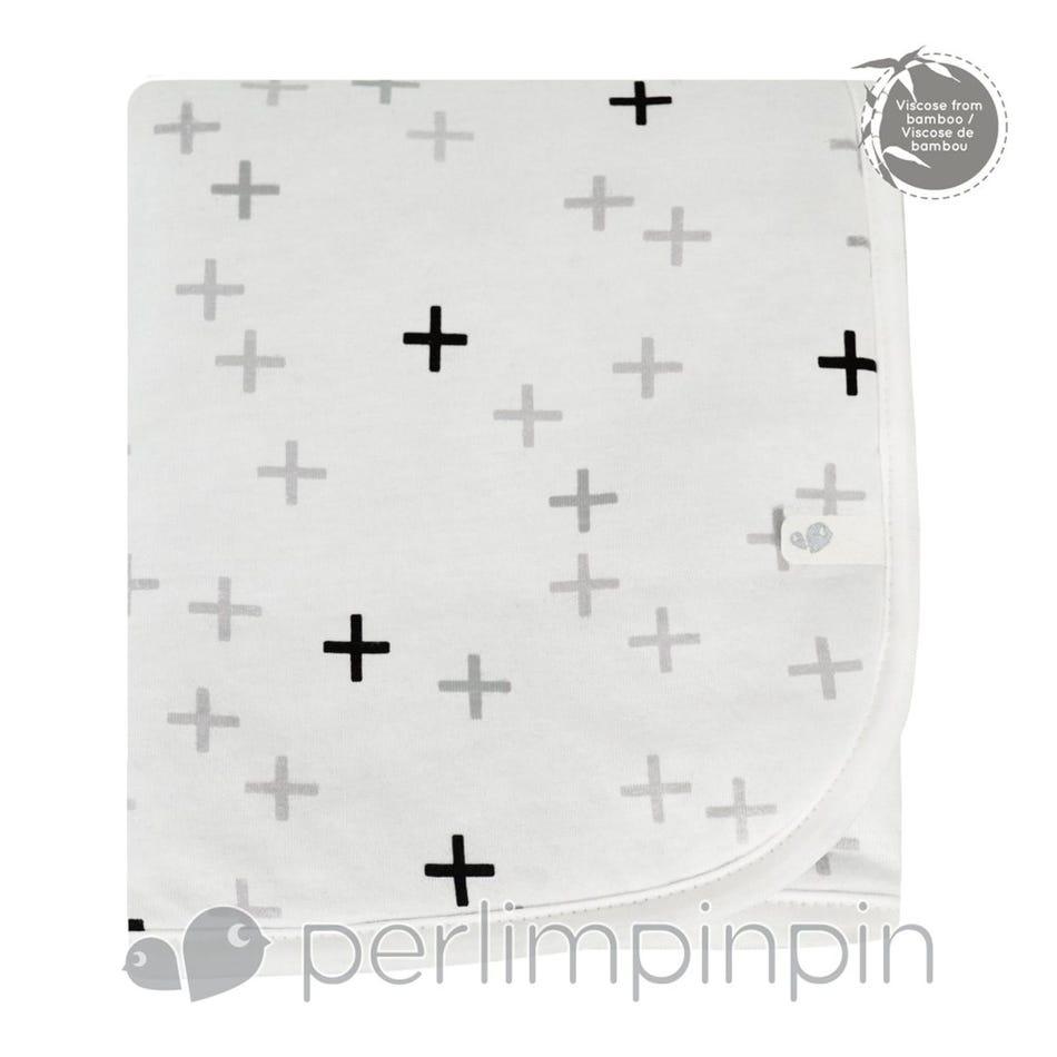 69eb602c81 Perlimpinpin Blanket Bambou Plus Grey - Clement