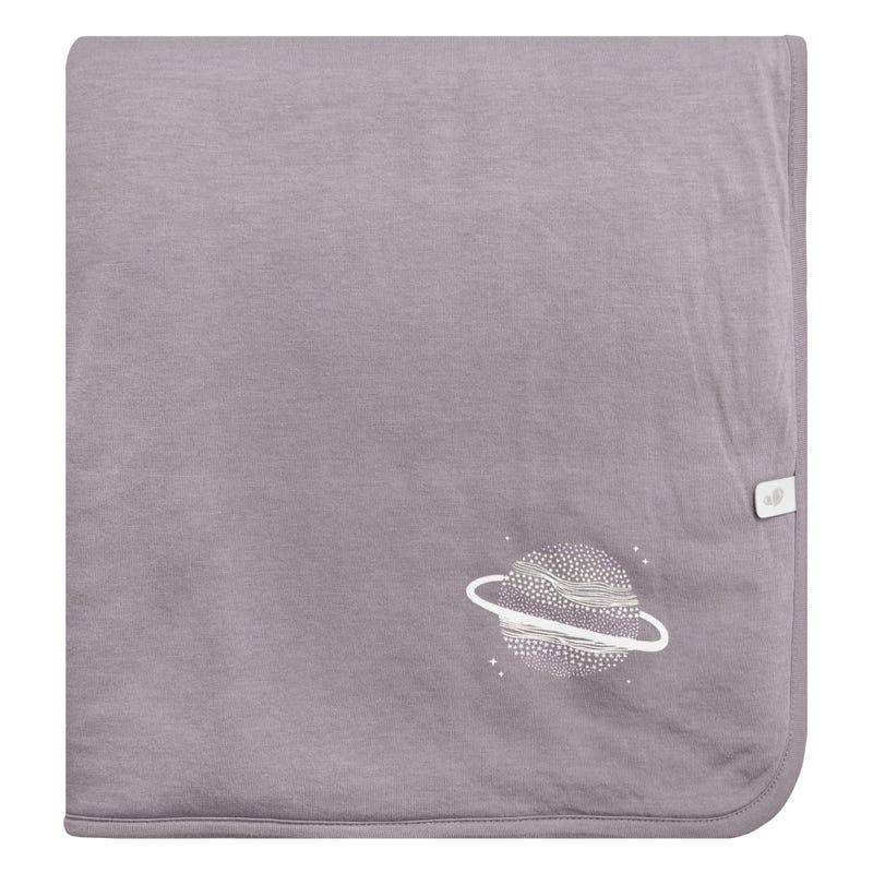 Bamboo Quilted Blanket - Plum