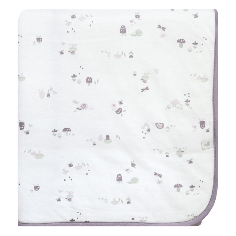 Bamboo Quilted Blanket - Mushroom
