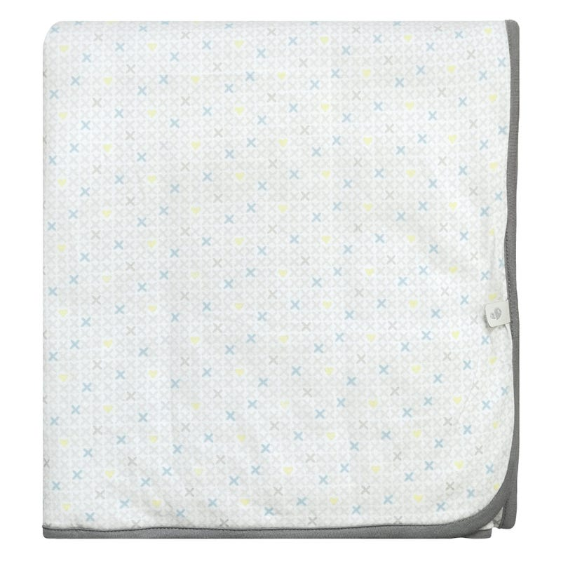 Bamboo Quilted Blanket XHearts