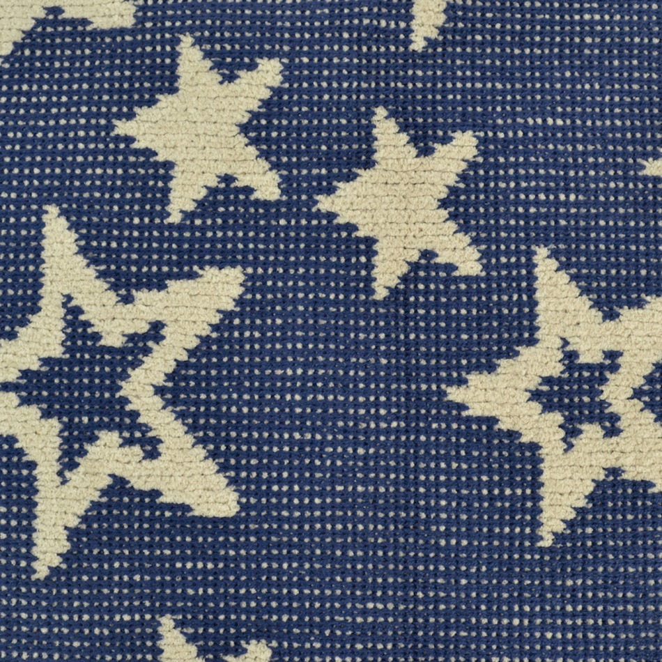 cff29fa34e Perlimpinpin Chenille Blanket Stars Navy - Clement