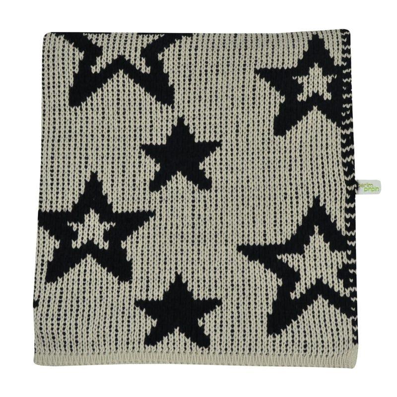Chenille Blanket Stars - Sand