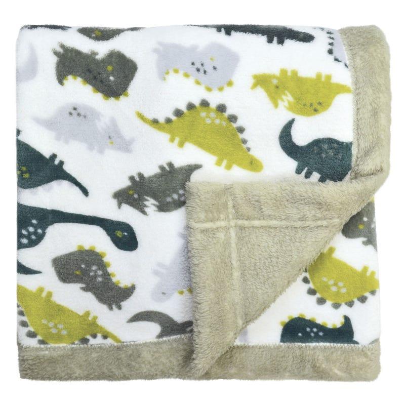 Plush Blanket Dinosaurs