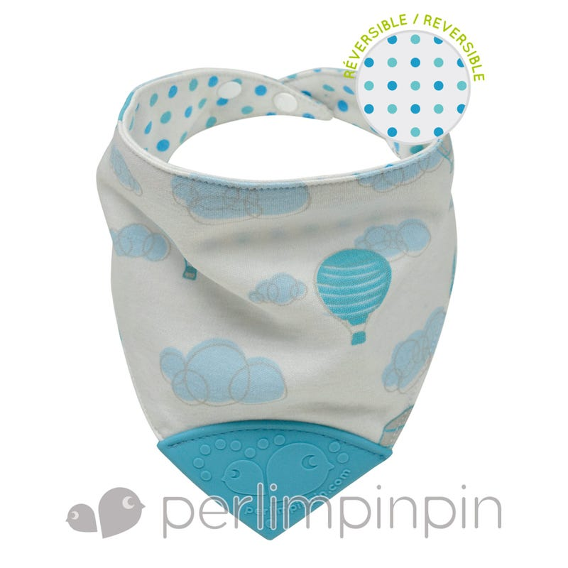 Teething Bib - Ballon