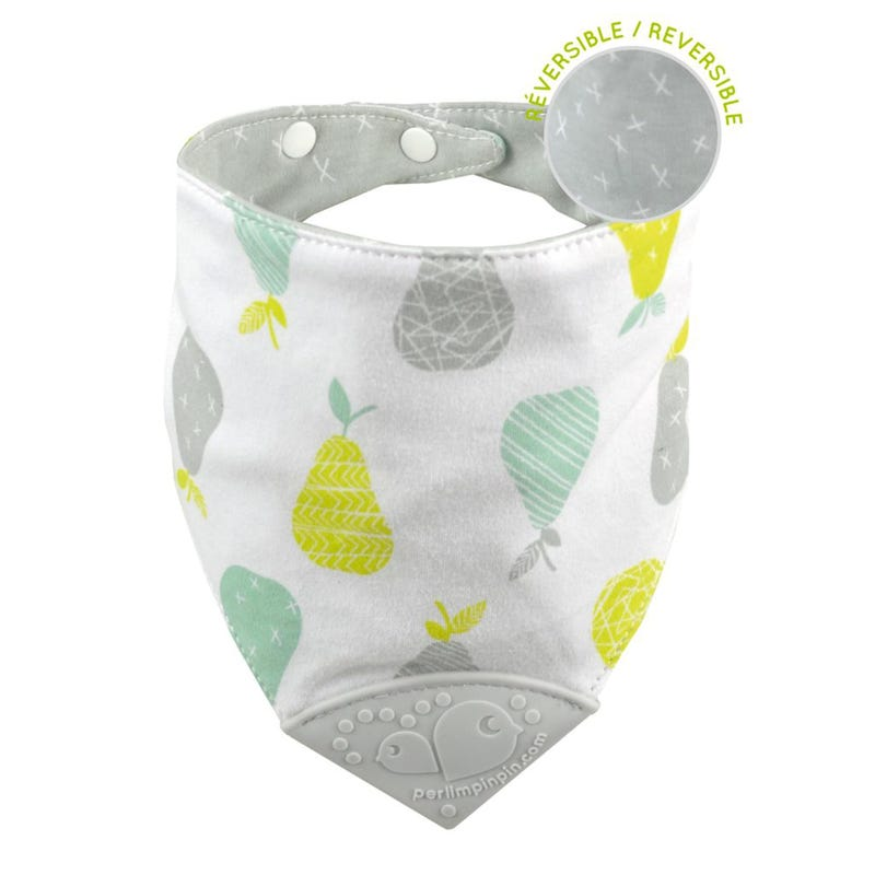 Teething Bib Pears