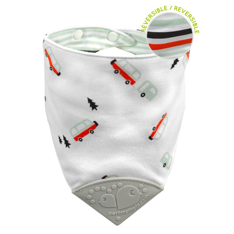 Teething Bib Camping