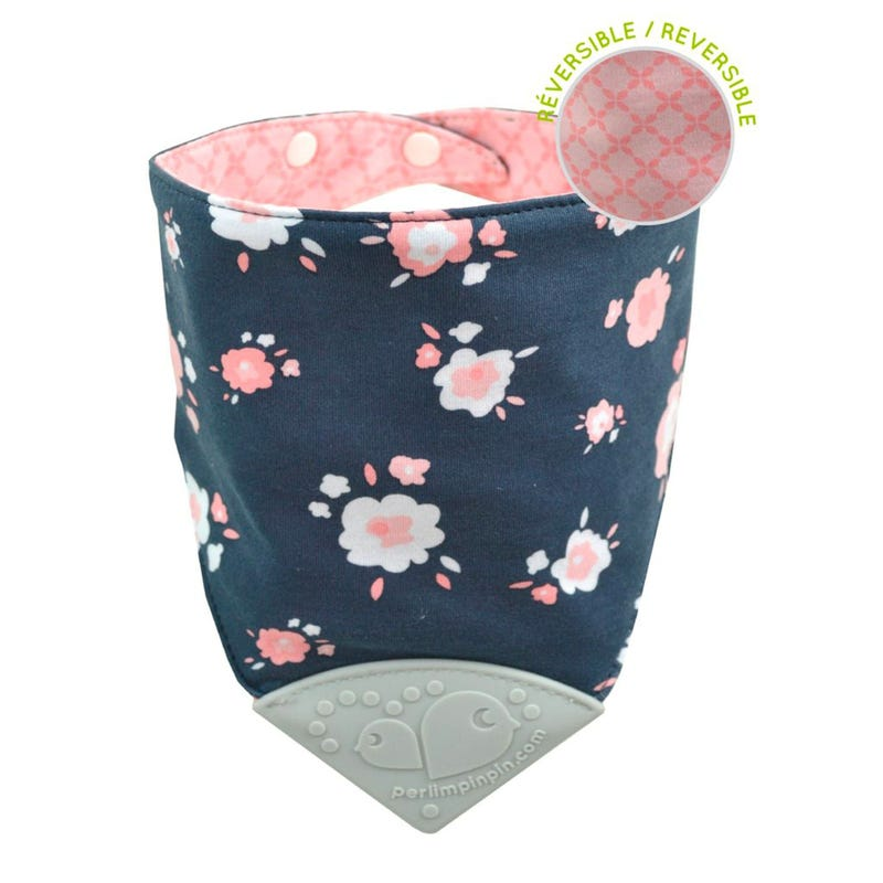 Teething Bib Flowers