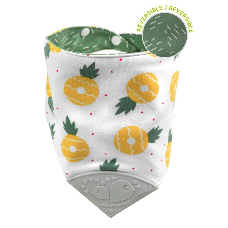 Bavoir de Dentition Coton - Ananas