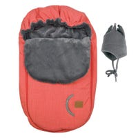 Car Seat Cover - Coral