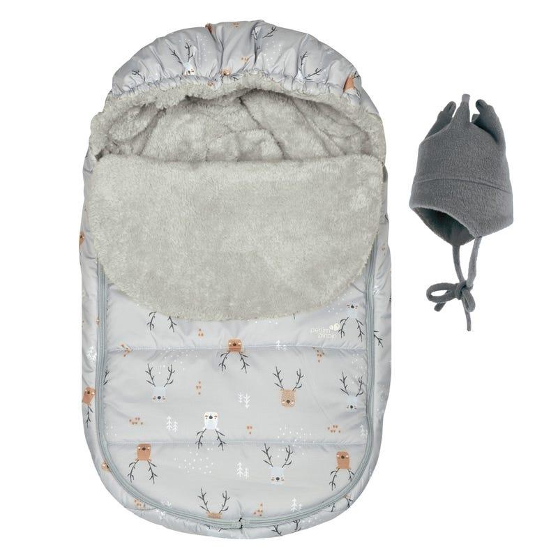 Car Seat Cover - Deers Grey