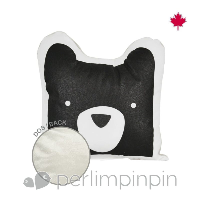 Shaped Cushion - Bear