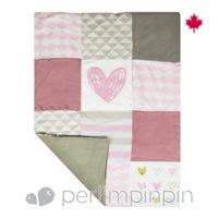 Comforter - Pink/Hearts