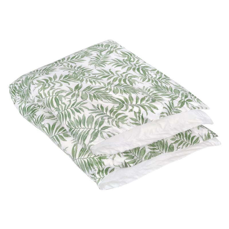 Duvet + Duvet Cover - Tropical Green
