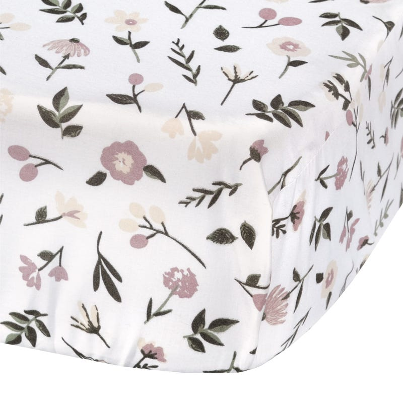 Drap Contour Bébé - Floral