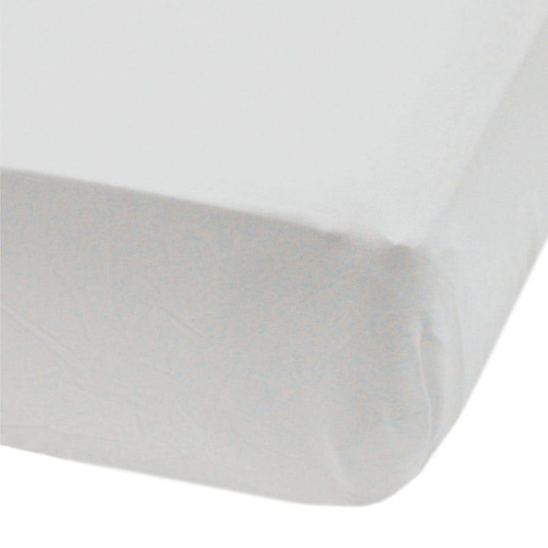 Crib Flat Sheet -Gray mouse