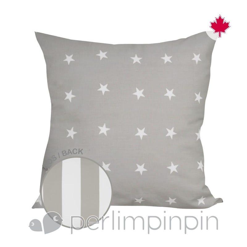 Reversible Large Cushion - Stars