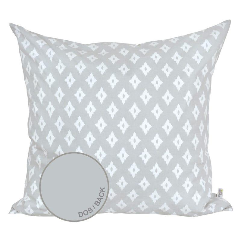 Reversible Large Cushion Diamond - Gray