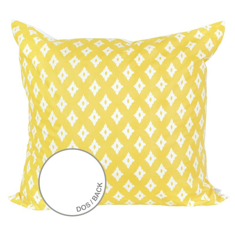 Reversible Large Cushion Diamond - Yellow
