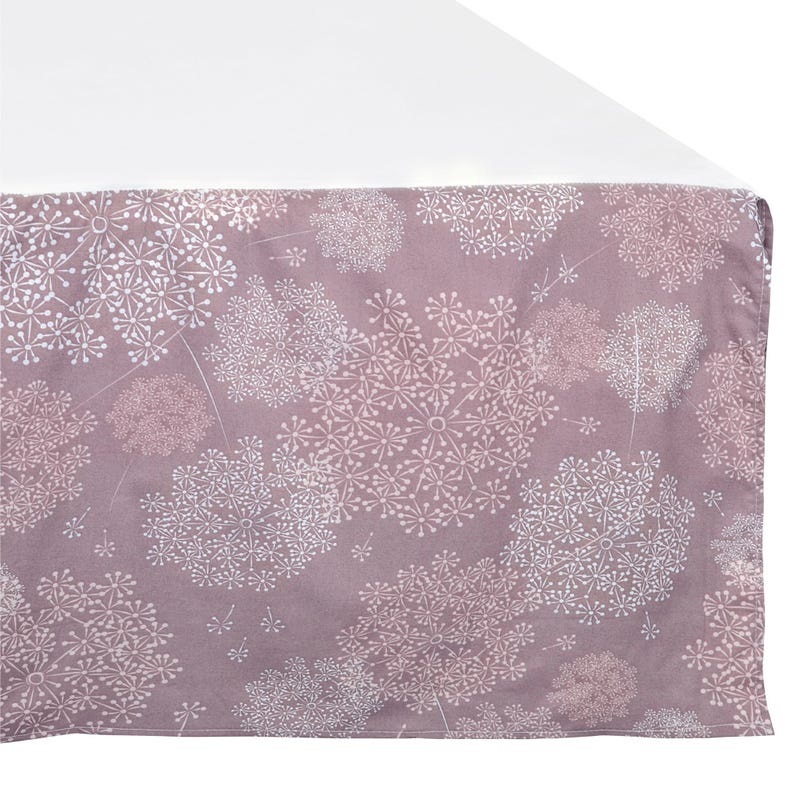 Bed Skirt for Baby - Dandelion Plum