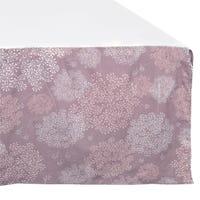Bed Skirt for Baby - Dandelion Plum