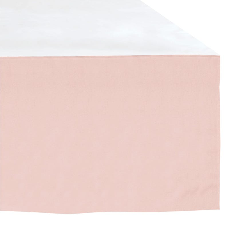 Bed skirt - Light Pink