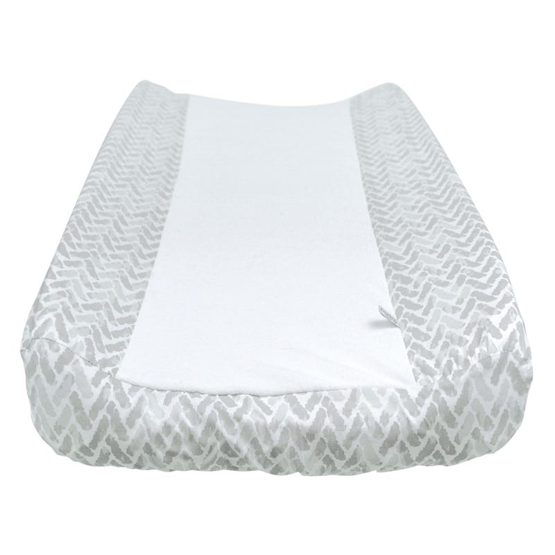 Changing Pad Cover Chevron - Gray