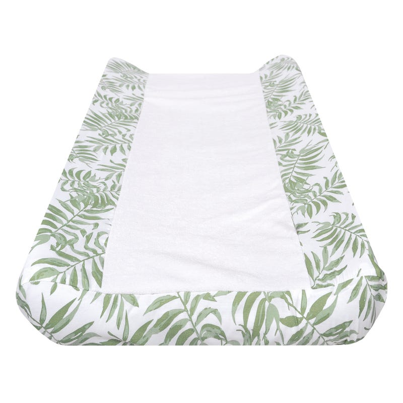 Changing Pad Cover - Tropical Green