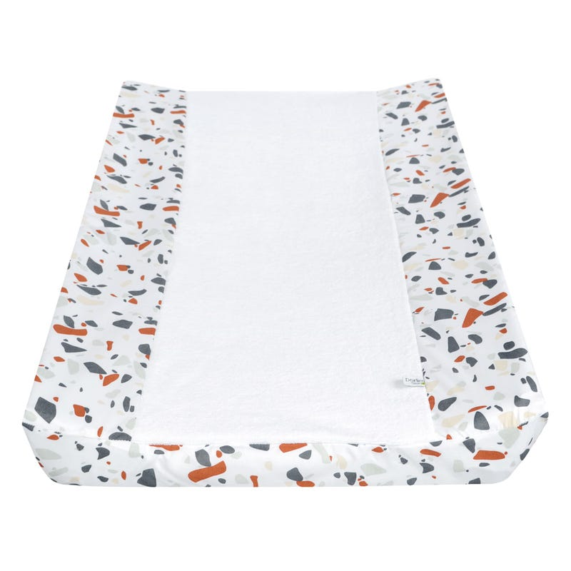Changing Pad Cover - Terrazzo